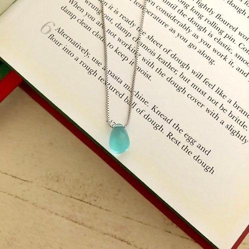 Mina- Crystal Water Drop Necklace