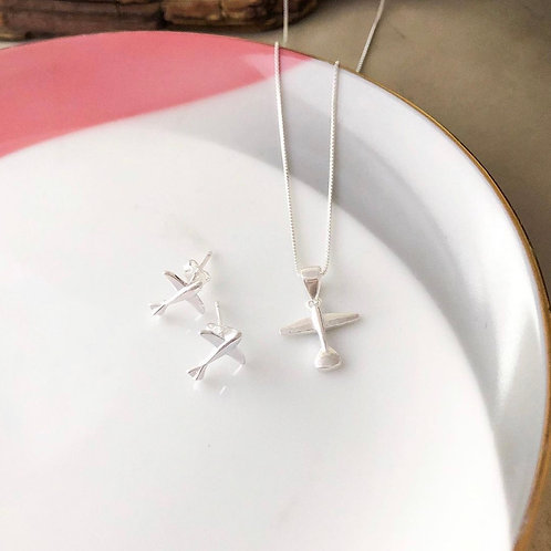 Fly Necklace • Sterling Silver