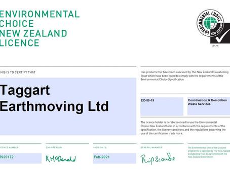 Eco-Label Achievement