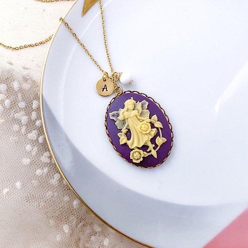 Fairy Cameo Necklace
