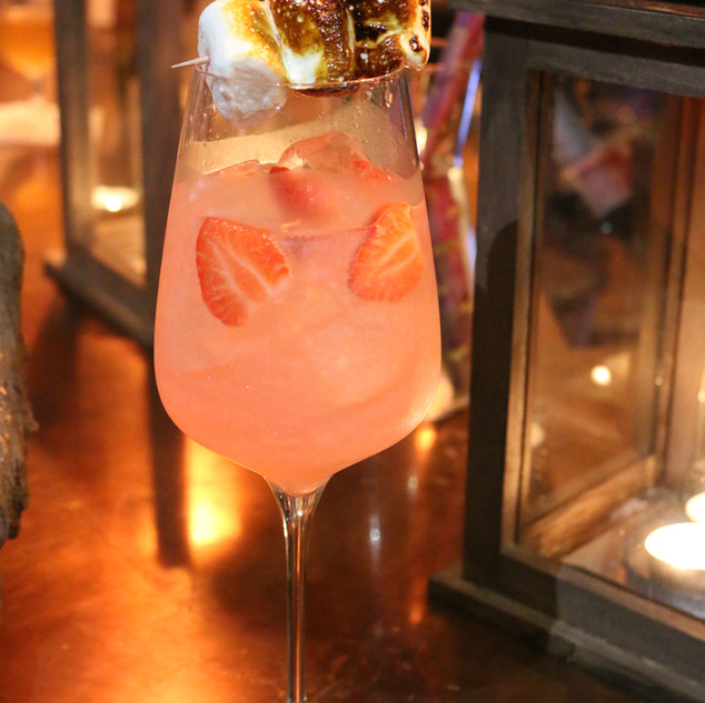 Shimmer and Tonic in Tipsy Monkey Liverpool