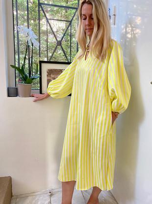 Robe Capri jaune