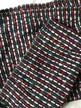 Tissu coton natté