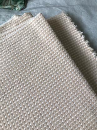 tissu motifs beige