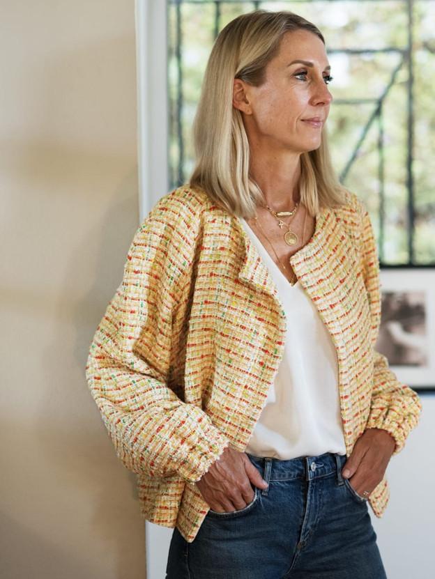 Paris tweed jaune