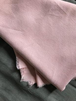 tissu rose buvard