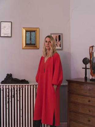 Robe Capri en soie