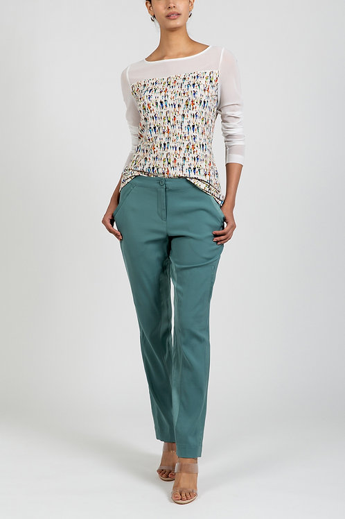 LUXE CUPRO STRETCH PANT