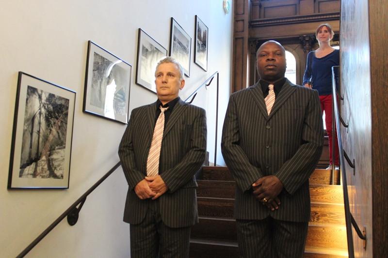 Patrick Voitot et Gaetan brigade Noussou