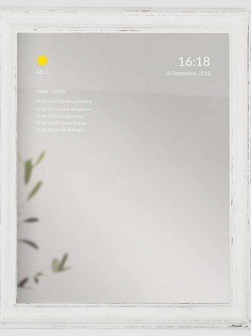 White Shabby Chic Frame - Medium