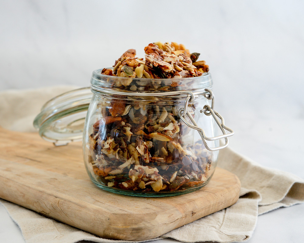 Low Carb Grain Free Granola