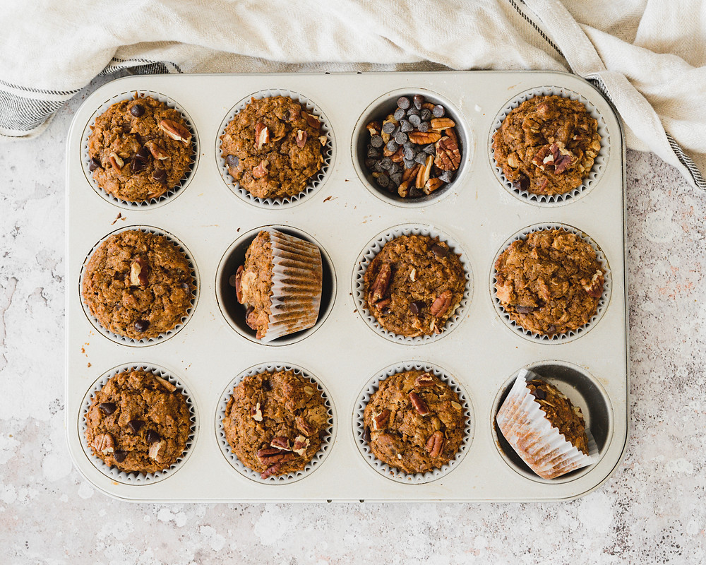 Oatmeal Cookie Muffins