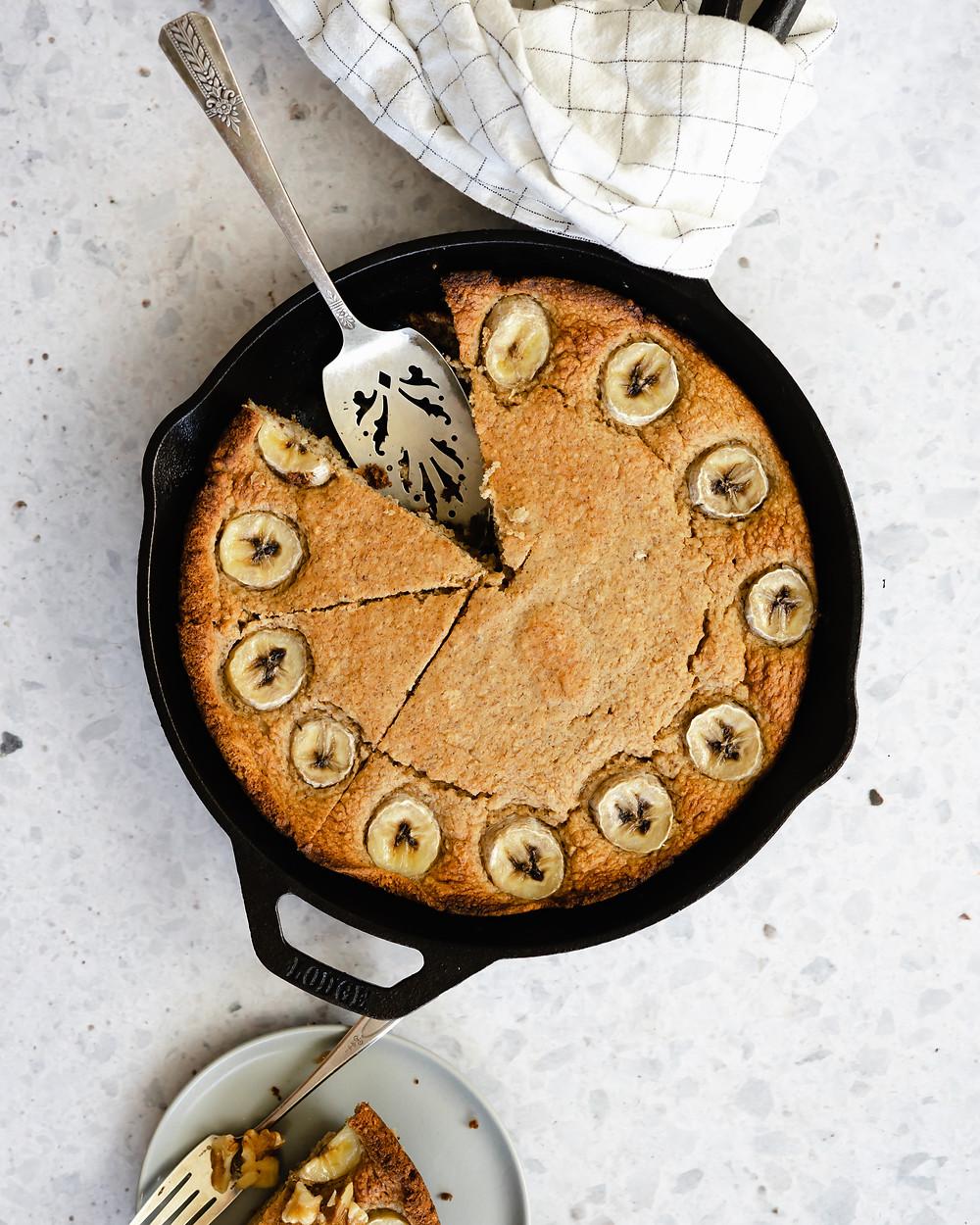 Health Walnut Banana Bread