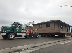 Student Built House Relocation