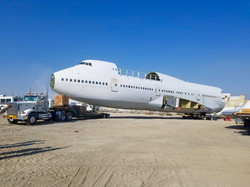Boeing 747 Jet Relocation Project