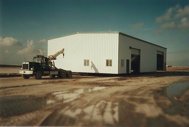 Steel Shop Building Relocation