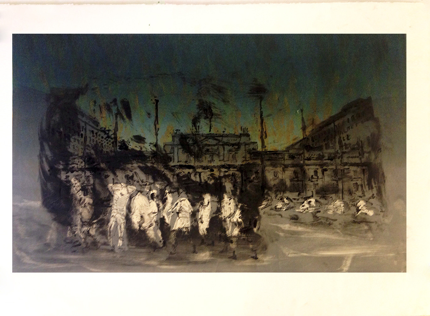 Coup d'etat, 11.11.1973, etching, 44 x 32 in, 2015.jpg
