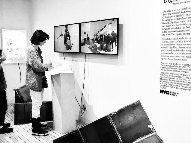 Dignidad_Exhibition_Center for Book Arts