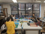 Young Book Artists, A Bilingual Book Arts Class for Kids, The Center for Book Arts, New York