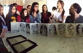 Artist Talk, Universidad de Chile, Stgo, 2015