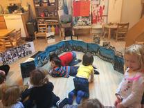 Workshop, Kids Canvas pre-school, Brooklyn, 2016