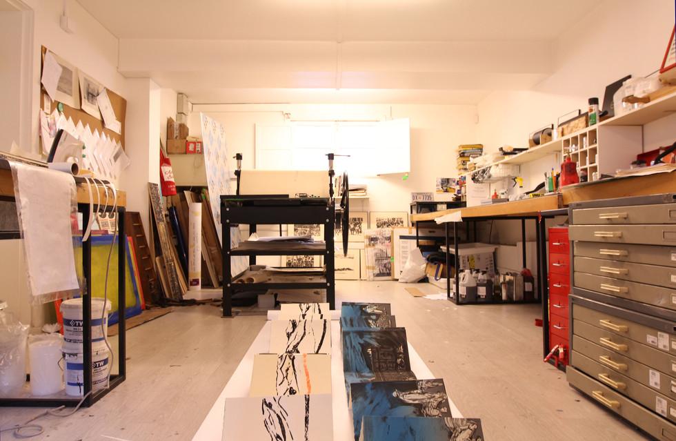 Studio, Snatiago, Chile