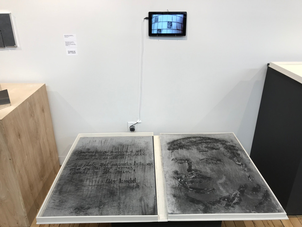 Exhibited at The Center for Book Arts, NYC,2017
