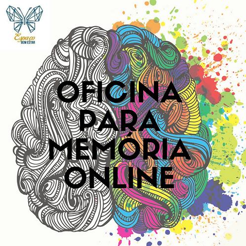 OFICINA PARA A MEMÓRIA - ONLINE