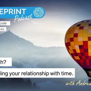 In or through? Understanding your relationship with time.