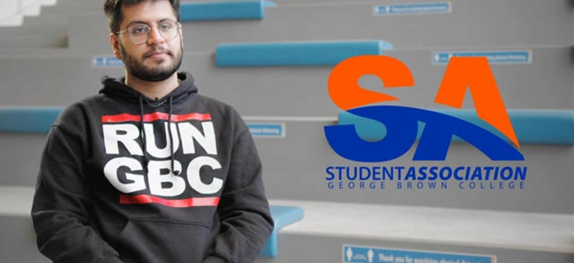 """Student Association of George Brown College / """"Vote"""""""