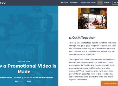 Latest UpCity Blog features Minifridge Media