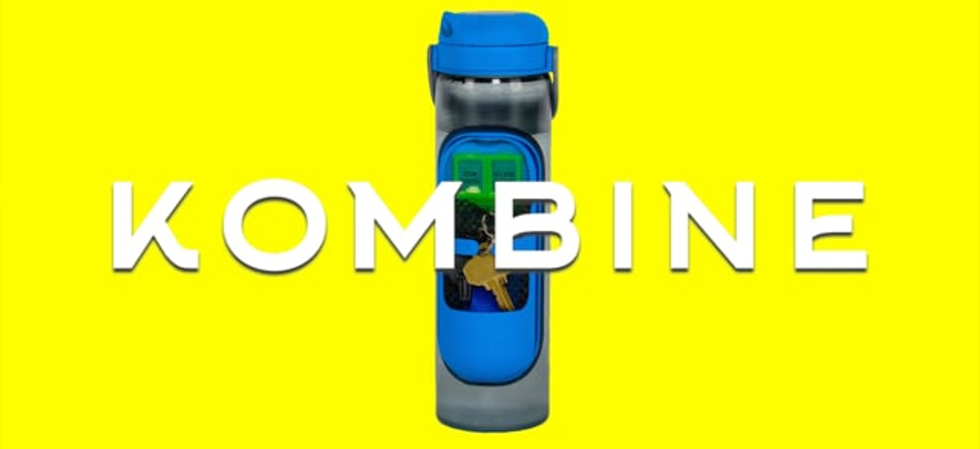 "Kombine / ""Water Bottle Re-Imagined"""