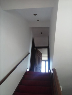 Interior staircase painting