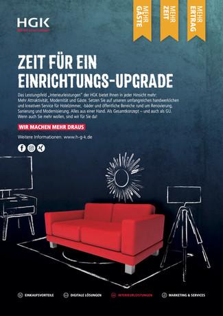 NEUE HGK-KAMPAGNE FÜR DIE 4 LEISTUNGSFELDER
