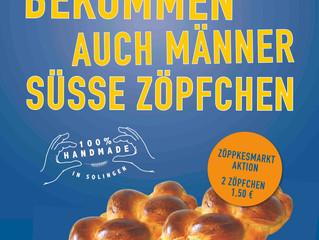 Natürlich frisch: die Plakatkampagne für den Solinger Bäcker Lubrich.
