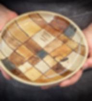 pratos de cerâmica produzidos em Gonçalves MG