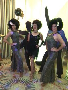 dancers, entertainment, 70s parties