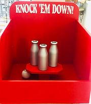 Milk Bottle Throw Carnival Game