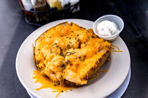Shrimp Baked Potato