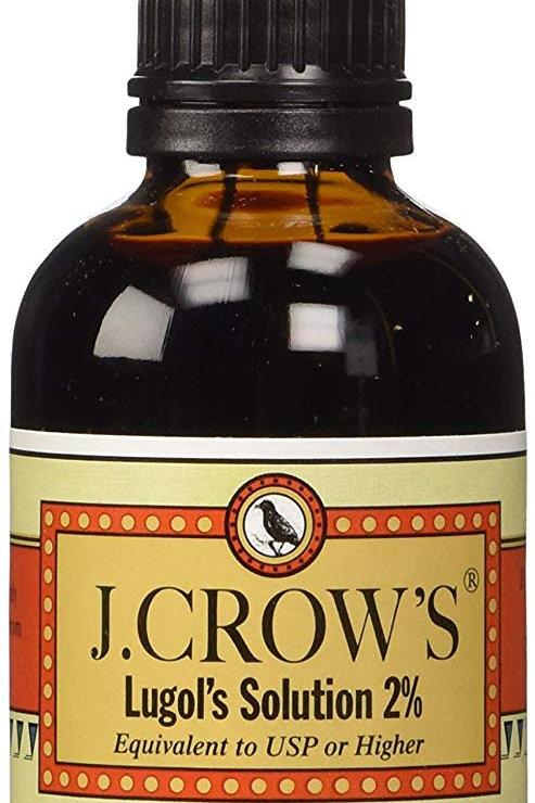 J Crow lugol's iodine solution(2 oz.)
