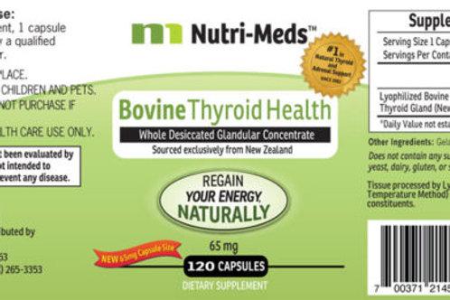 Bovine thyroid support