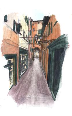 Rue de Bologna, Italie