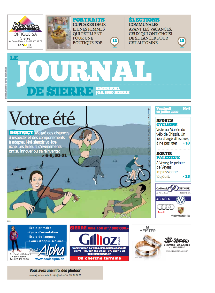 Illustration de presse originale