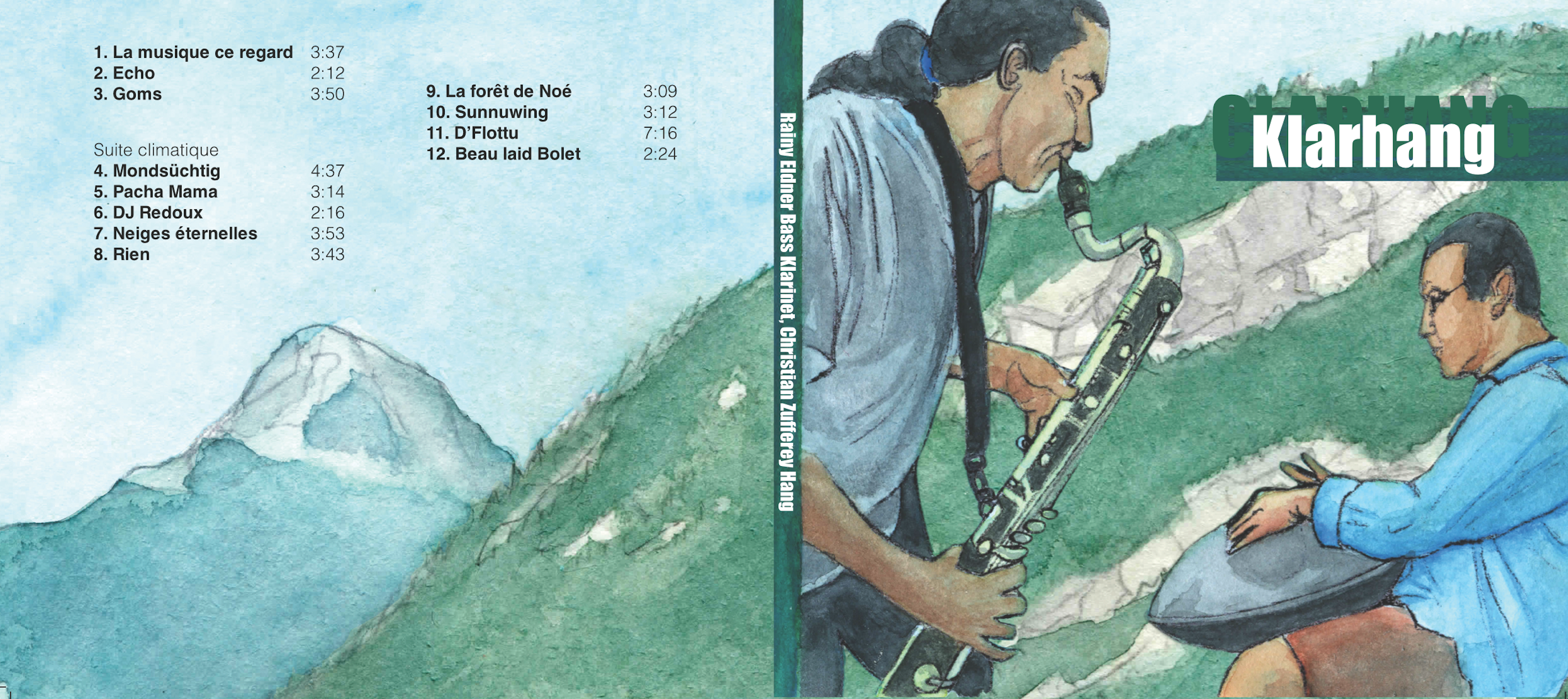 Pochette pour un album CD