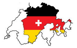 Illustration de presse-origines du suisse-allemend