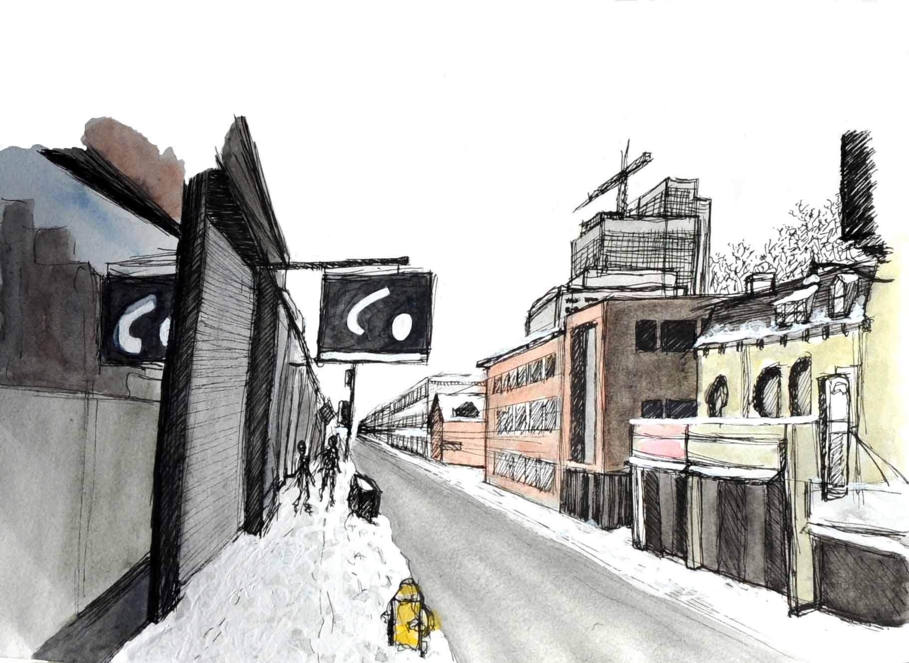 Rue de Toronto