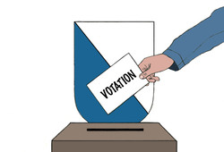 Illustration de presse-votations cantonales