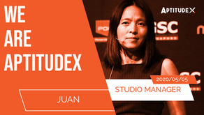 WeAreAptitudeX : Juan, Studio Manager