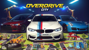 Overdrive City : un jeu mobile de type city-builder et de course