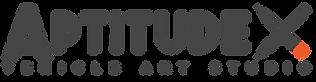 AptitudeX Logo New HD gris.png